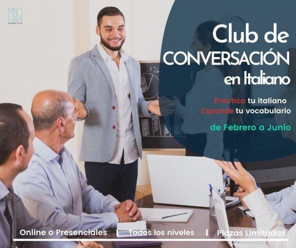Club de Conversación en Italiano